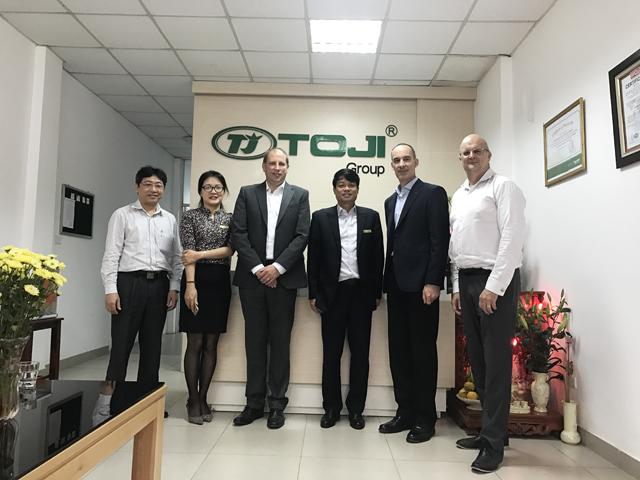 Giám Đốc ABB khu vực Đông Nam Á và Tổng Giám Đốc ABB Việt Nam thăm và làm việc với TOJI Group