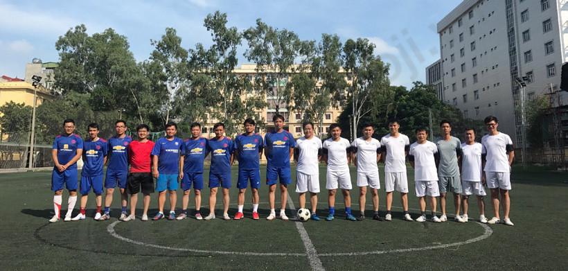 Đội tuyển TOJI tham gia giải bóng đá MB Hoàng Quốc Việt vào 4/11