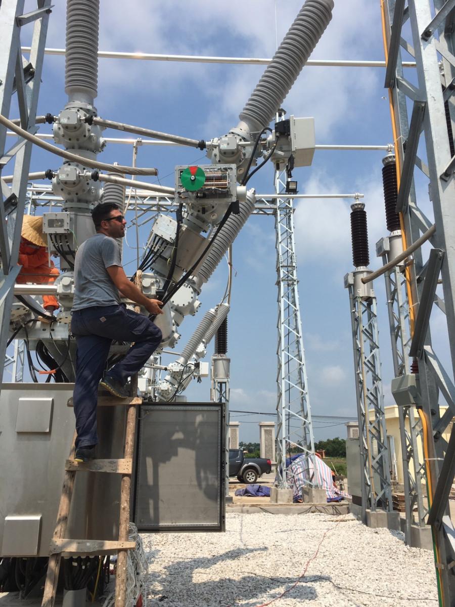 Trạm 110kV An Lão sẽ đóng điện vào đầu tháng 9/2017