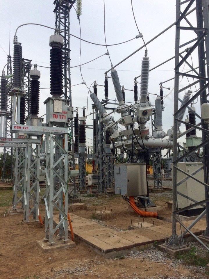 Đóng điện thành công trạm biến áp 110kV Hải Phòng 96