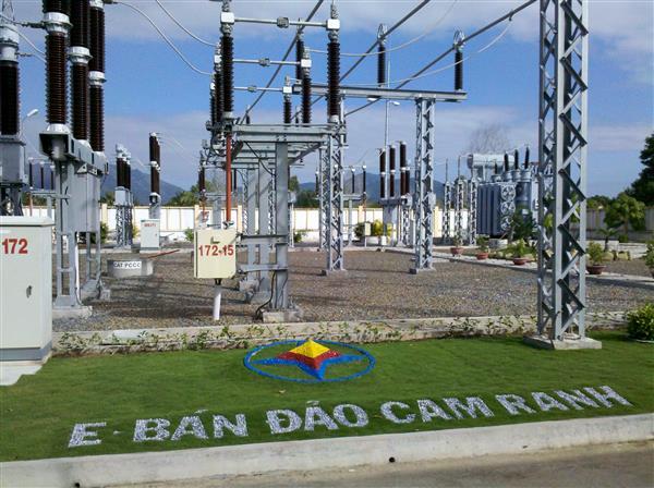 Đóng điện 3 trạm biến áp và đưa 3 trạm biến áp vào vận hành không người trực tại Khánh Hòa
