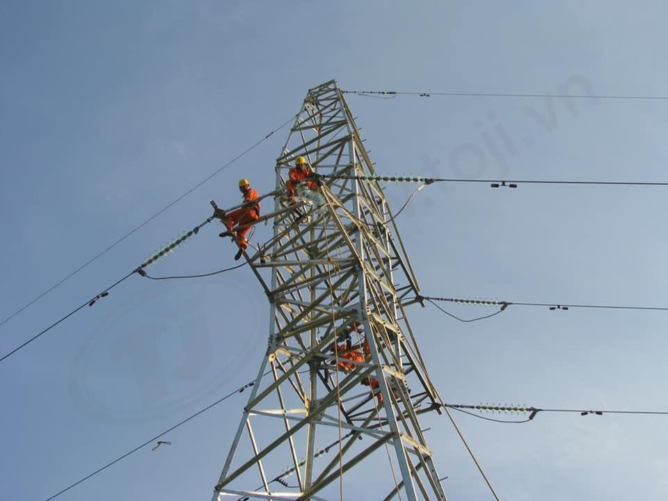 Đóng điện thành công dự án truyền tải DZ 110 kV Dốc Sỏi – Bình Nguyên