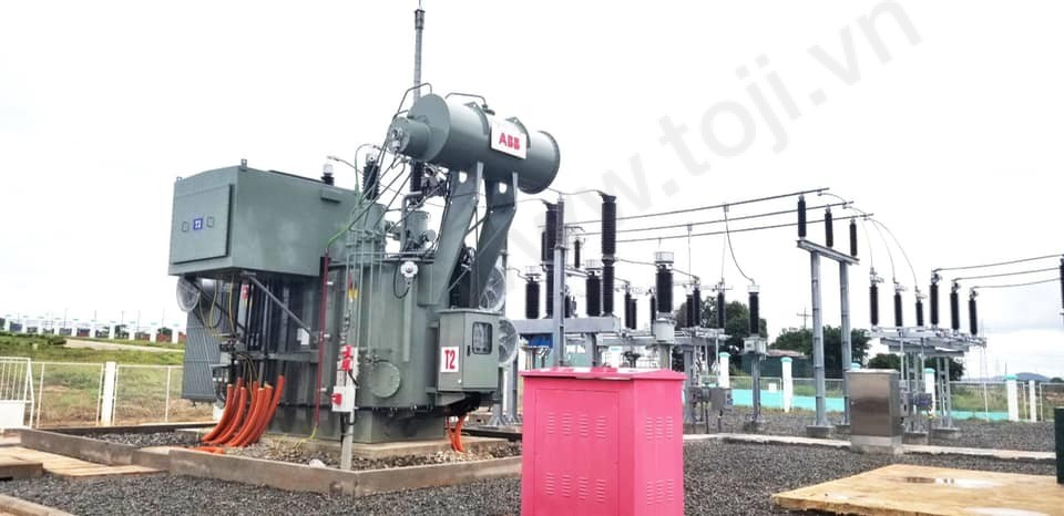 Đóng điện thành công trạm 110kV Hàm Kiệm 1
