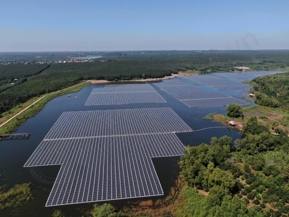 Nhà máy Điện Mặt Trời nổi Hồ Gia Hoét 1 chính thức vận hành thương mại
