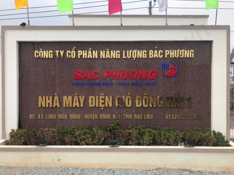 Đóng điện thành công trạm 110kV Phong điện Đông Hải 1